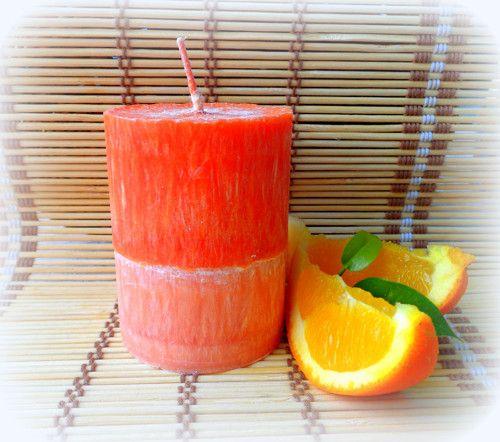 Candle Orange