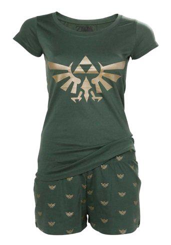 Zelda: Zelda Lullaby Ladies Nightwear Set - Merchoid