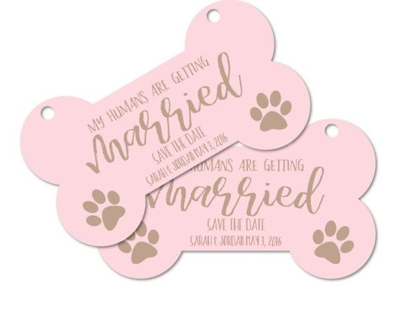 Printable Personalized Engagement Photo Prop Dog sign My
