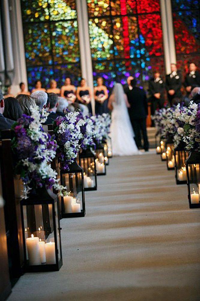 45 Breathtaking Church Wedding Decorations Church Wedding