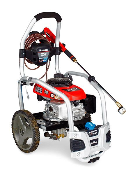 Homelite UT80432 Ranking: ★ ★ ★ ★ ★ (Best Overall) Price: $400  PSI/GPM: 3100/2.5  Cleaning Units: 7750  Engine: 187 cc   Top Small Pressure Washers -