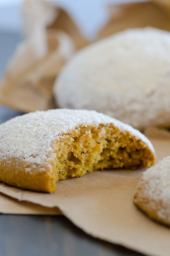 A copycat recipe for Panera Bread's Pumpkin Muffies, otherwise known as muffin tops, with a...