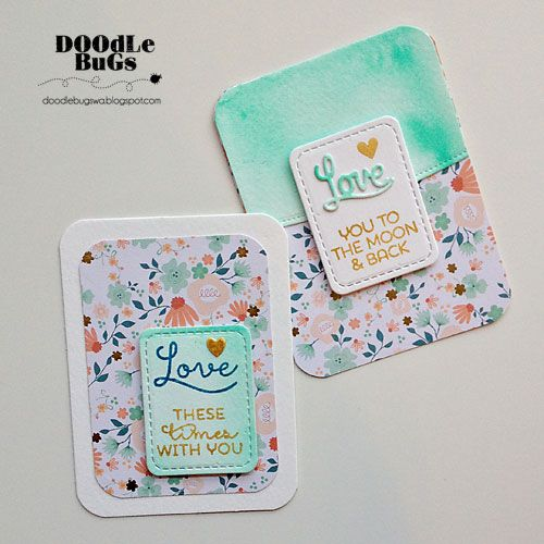 Doodlebugs: Technique Tuesday Pocket Scrapbooking Inspiration