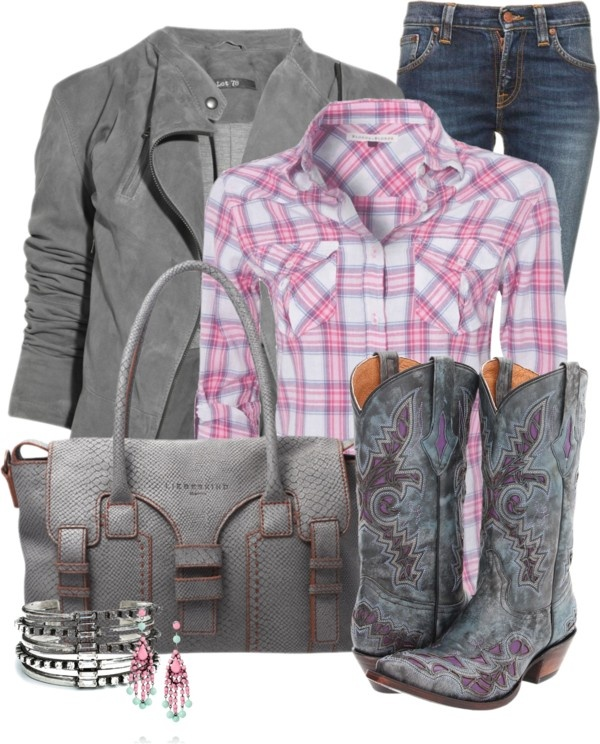 """Modern Cowgirl"" by happygirljlc on Polyvore"