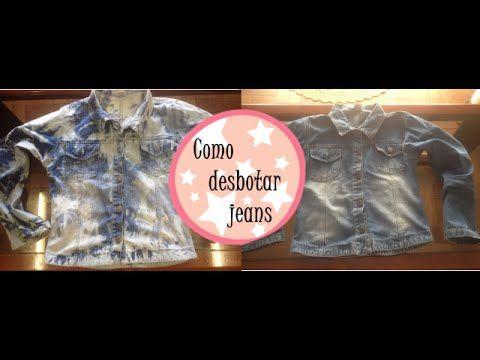 Como desbotar jeans