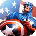 Dibujos para colorear de El Capitán América para pintar online e imágenes en blanco y negro para colorear gratis sobre El Capitán América ¡A Colorear!