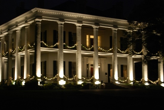 Dunleith sure is a one of a kind house to tour especially ...