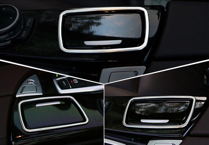 For BMW 5 series F10 2011 2012 2013 2014  Interior Ashtray decoration cover trim 1pcs #Affiliate