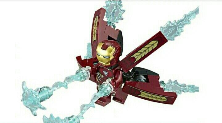 Infinity War Iron Man Mark 50 Lego Iron Man Marvel Lego