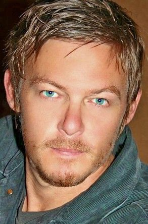 Wow he cleans up nicely...Norman Reedus- Daryl from The Walking Dead!!! My favorite character and by FAR the one I'd want taking care of me during the zombie apocalypse.