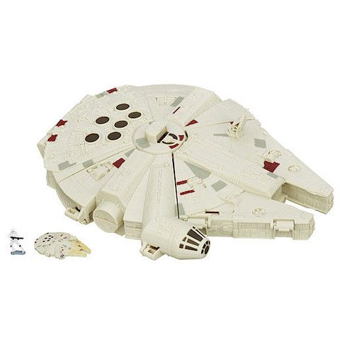 Star Wars The Force Awakens Micro Machines Millennium Falcon Playset – Mr Panda's Emporium