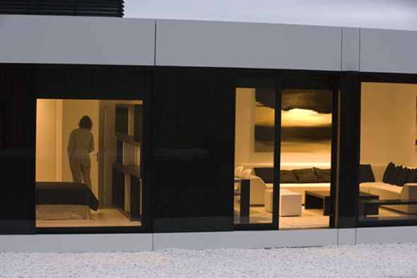 A-cero  has one more model from their homes  and modern modular  presents cool. Houses show opened in Ferrol (La Coruña) for those who w...