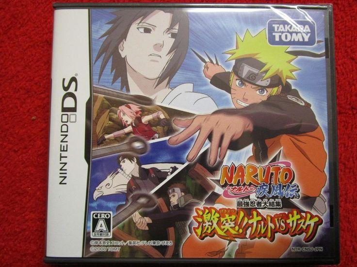 New NARUTO SHIPPUDEN : NARUTO vs. SASUKE game NINTENDO DS - FACTORY SEALED !!