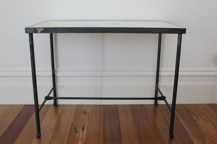 Metal and Marble Table   Anna Charlesworth