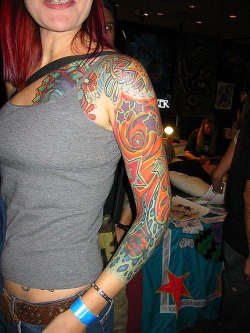 Best Tattoos Full Arm for Girls