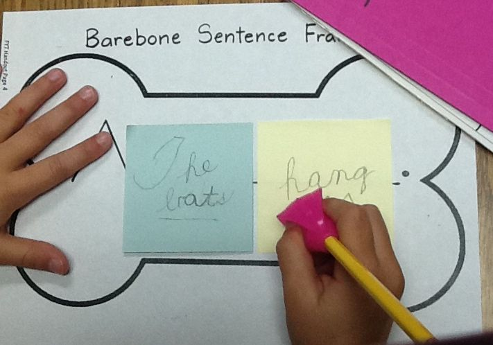 framing your thoughts worksheets for bare bones - Google Search