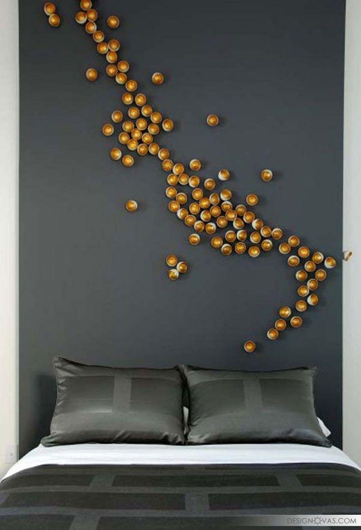 49 creative ideas to decorate bedroom walls