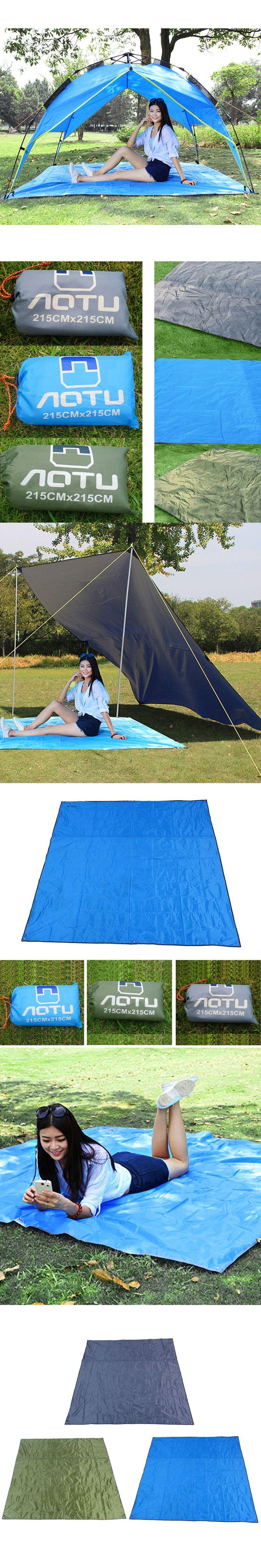 Ultralight Thick Oxford Groundsheet Folding Outdoor Picnic Mat Moistureproof Camping Mattress Pad Tarp Beach Tent Awning