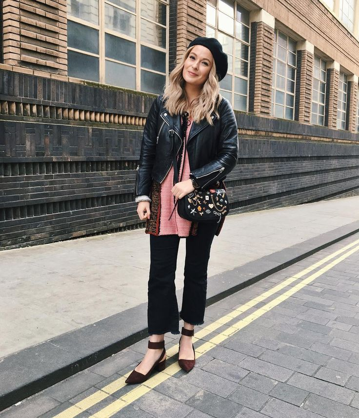 "854 Likes, 8 Comments - 💫🌟✨Faye Ellaby ✨🌟💫 (@fellaby) on Instagram: ""🍂 it's FINALLY October which means its beret season again - yay 🎃🌰 #ootd #wiwt #lotd #style…"""