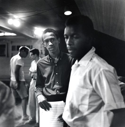 Don Cherry and Ornette Coleman © 1959 Clemens Kalischer