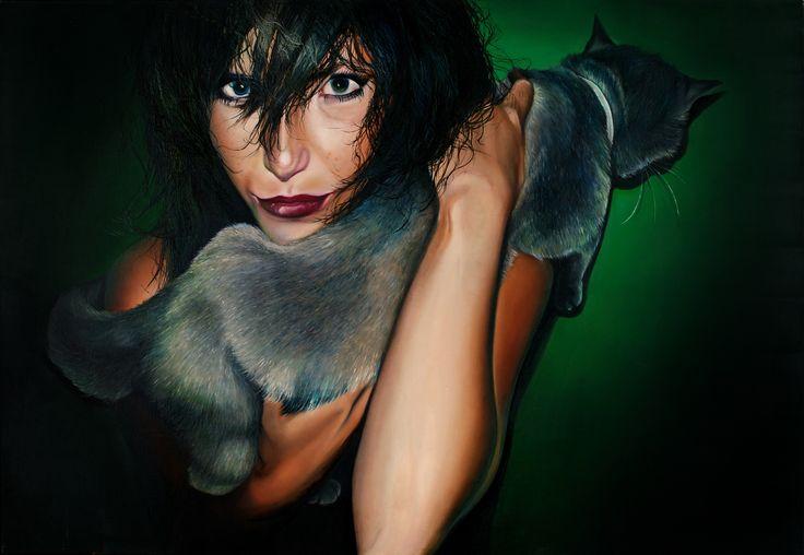 Marta Julia Piórko, oil on canvas