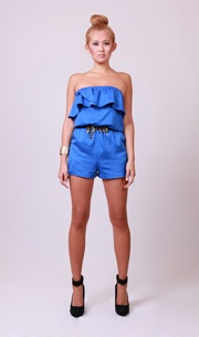 Molly Playsuit in Marine Blue  http://www.wrato.com/content/molly-playsuit