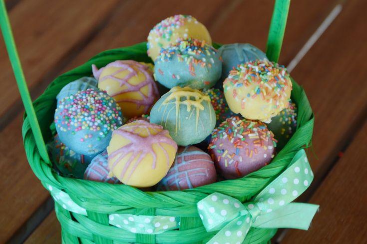 Velikonoční cukroví- barevné kuličky
