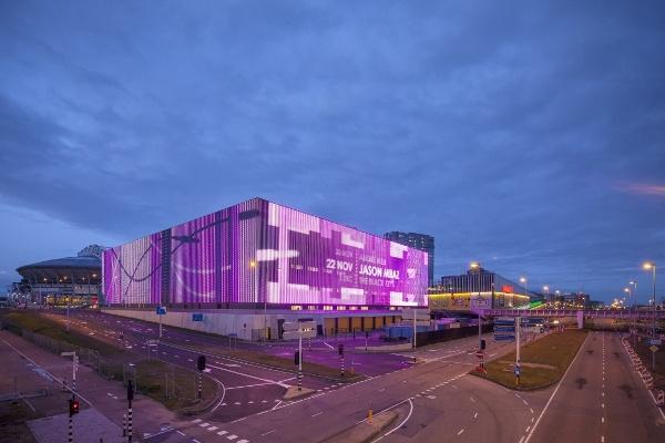 Ziggo Dome  Design: Benthem Crouwel Architekten  Commissioner: Black Box Real Estate
