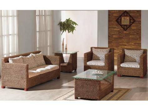 21 mejores imágenes de Rattan furniture living room en Pinterest ...
