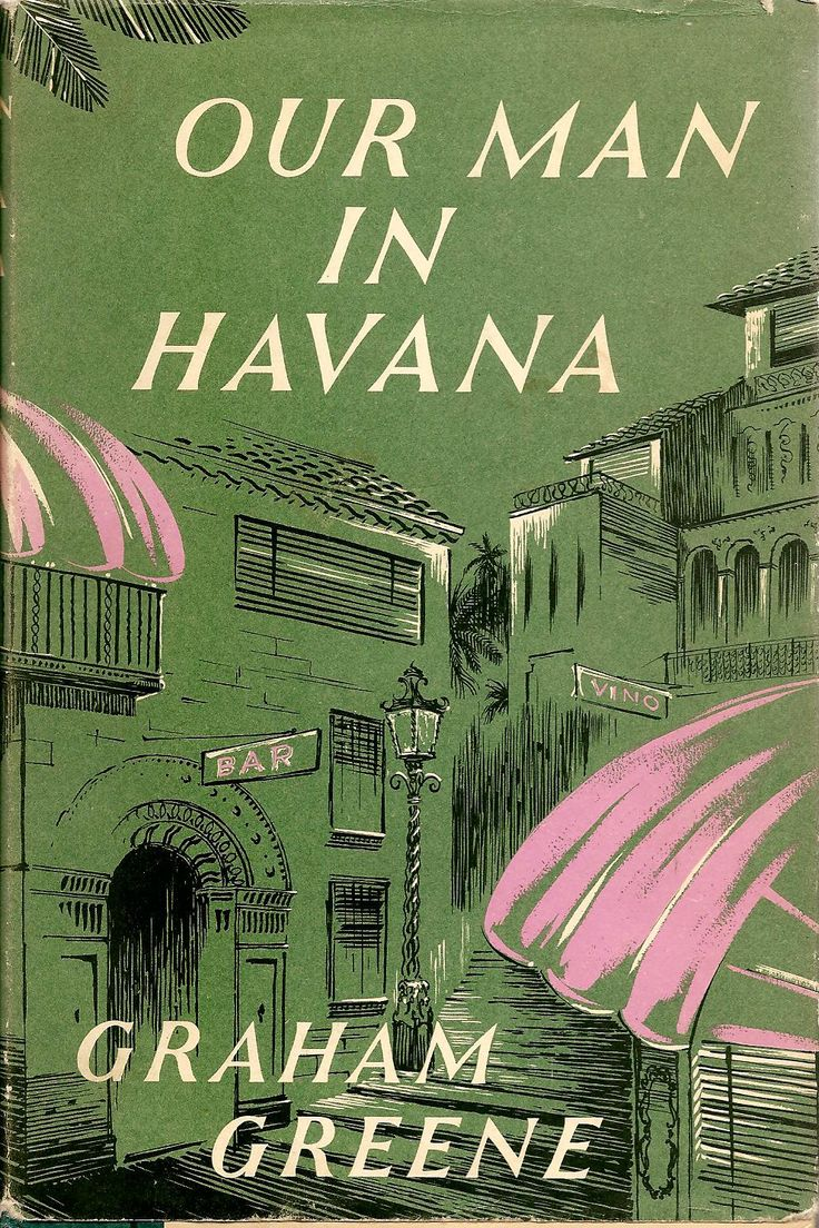 Image result for our man in havana book cover