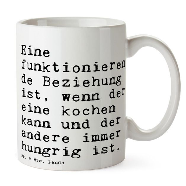 Bedruckte Tasse mit Spruch über Beziehungen / the relationship coffee mug with funny saying made by Spruchreif via DaWanda.com