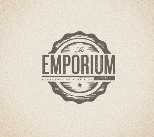 ...: Branding Design, Emporium Pies, Retro Logos, Foundri Collection, Logos Ideas, Logos Design, Graphics Design, Branding Identity, Typography