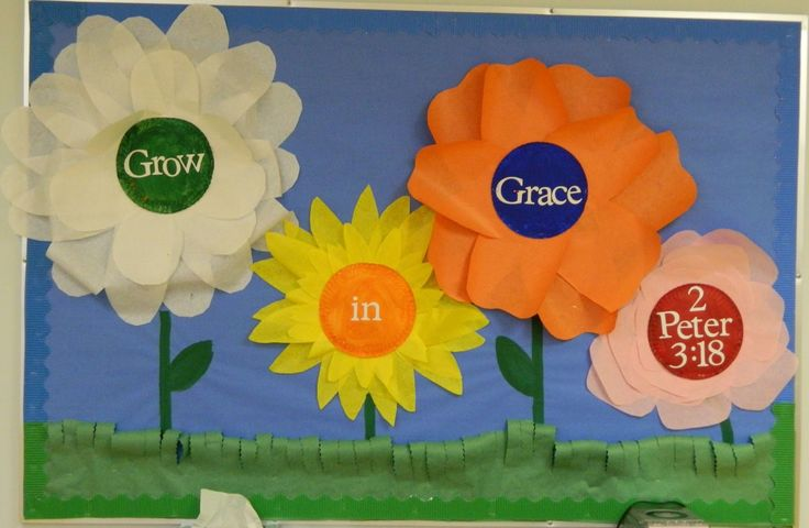 christian+school+bulletin+board+for+spring | grow fun with flowers html for sunday school for spring