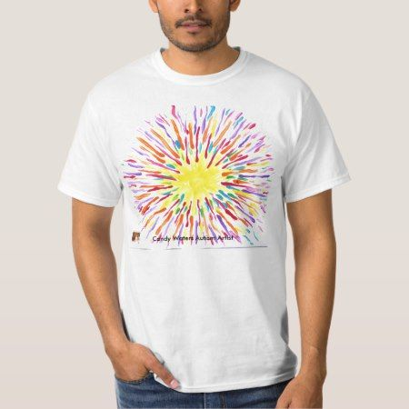 Candy Waters Autism Artist T-Shirt - click to get yours right now!