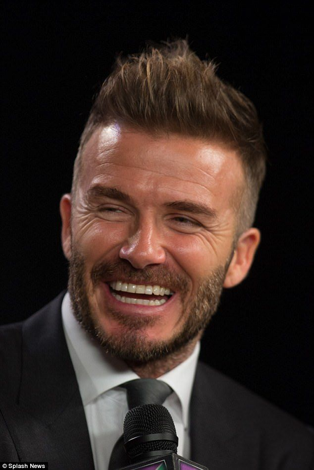David Beckham Dines With Pals In Miami After Mls Team