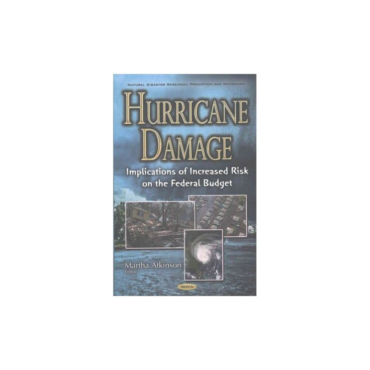 Hurricane Damage : Implications of Increased Risk on the Federal Budget (Hardcover)