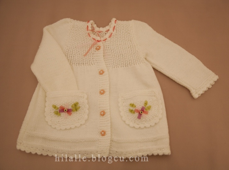 Baby Cardigan http://hilalserter.blogspot.com/search/label/KIZ%20%C3%87OCUK%20HIRKA