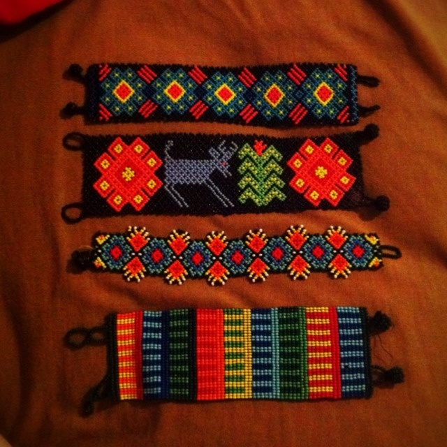 """My bracelets (huichol art)"" from @yamisonika on piictu.com"