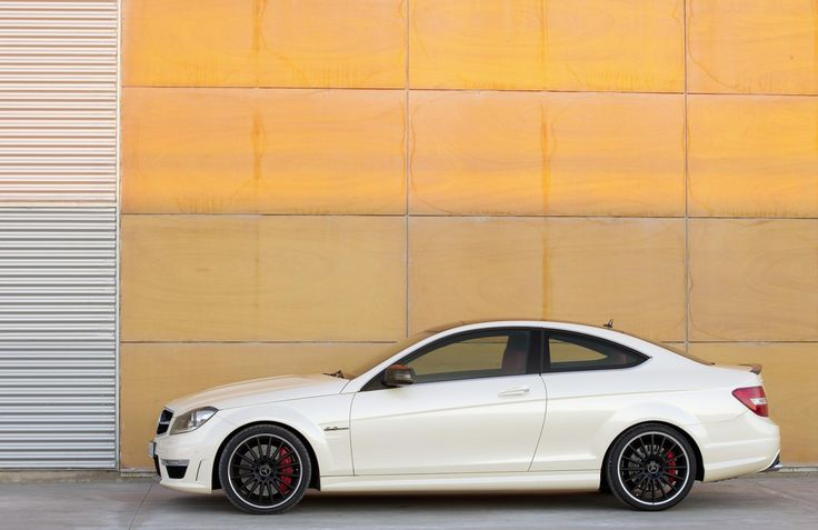2014 Mercedes C Class Coupe Side View