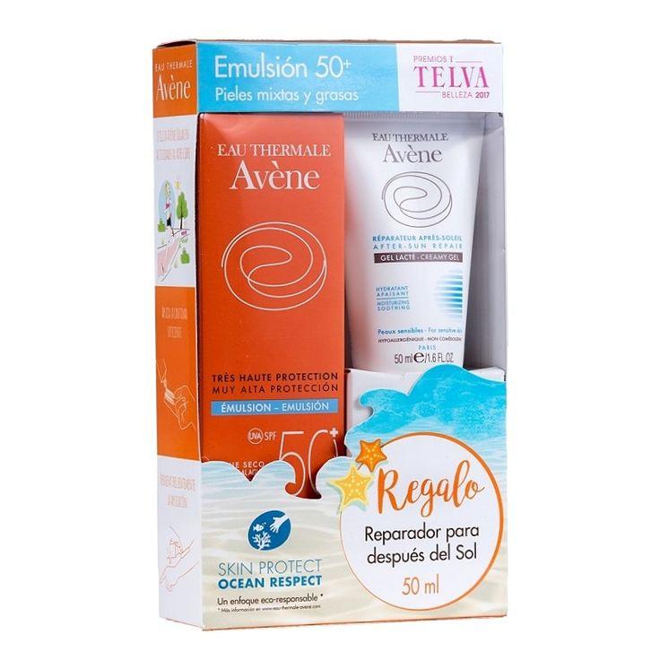 AVÈNE EMULSIÓN #SOLAR SPF50+   Toque seco. Muy alta protección para la #piel sensible normal a mixta del rostro. Resistente al agua. Protección de amplio espectro UVB-UVA. Fotoestable. Sin silicona.  + CREMA REPARADORA PARA DESPUÉS DEL SOL DE REGALO https://www.facebook.com/farmacia.doctora.morales o https://farmaciamoralesblog.wordpress.com #fotoprotector #crema #sol