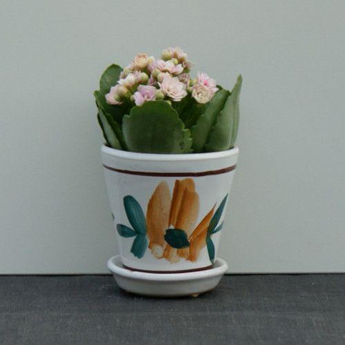 Urtepotter i keramik, porcelæn og stentøj