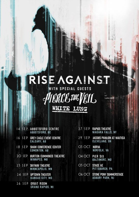 PIERCE THE VEIL Announce Fall Tour Dates With Rise Against – PIERCE THE VEIL Announces Fall Tour Dates With RiseAgainst Performing At The 2017 Journeys Alternative Press Music Awards On July 17 PIERCE THE VEILwill be heading out on tour this fall with hardcore punk legends Rise Against. The tour will bestarting in Abbotsford, BC on September 14 and... #apmas #piercetheveil #riseagainst