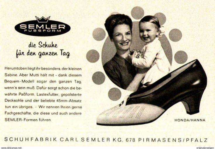 Original-Werbung/ Anzeige 1964 - SEMLER SCHUHE PIRMASENS - Ca. 120 X 80 Mm - Werbung