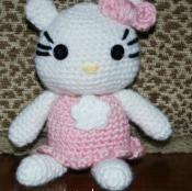 Crochet Hello Kitty Amigurumi - via @Craftsy