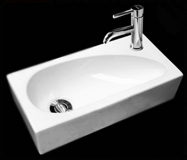 Stylish Amp Modern Rectangular Small Hand Wash Cloakroom Rh