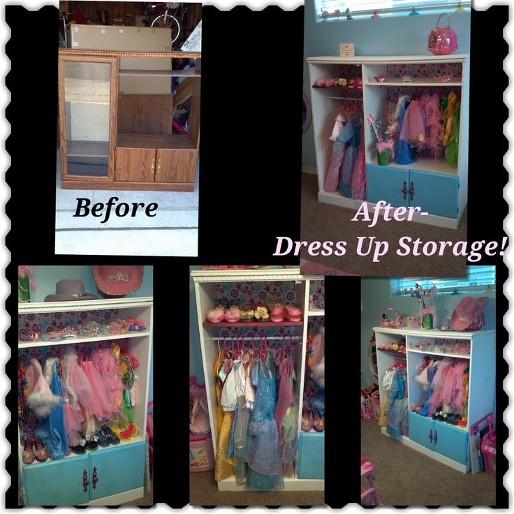 Dress Up Storage!