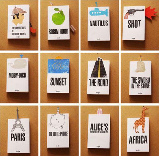 10 beautiful examples of bookmark design - Bookmark Design Ideas