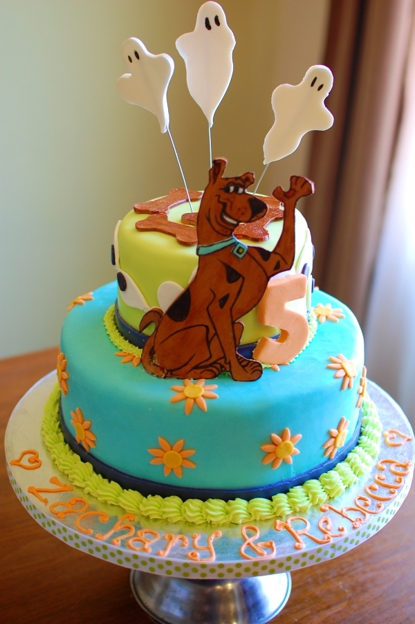 Scooby Doo Ghost Cake