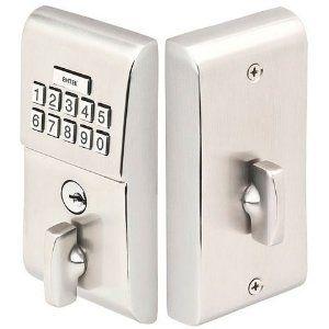 emtek keypad deadbolt keyless deadbolt for gates and doors item e1020 made