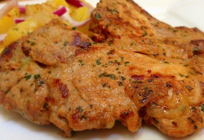 Mustáros tarja hagymás krumplival recept képpel. Hozzávalók és az elkészítés részletes leírása. A mustáros tarja hagymás krumplival elkészítési ideje: 51 perc